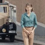 NORA. Tuva Novotny som Puck i TV4s filmatisering av Maria Langs böcker. (c) TV4