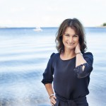Viveca Sten på Sandhamn