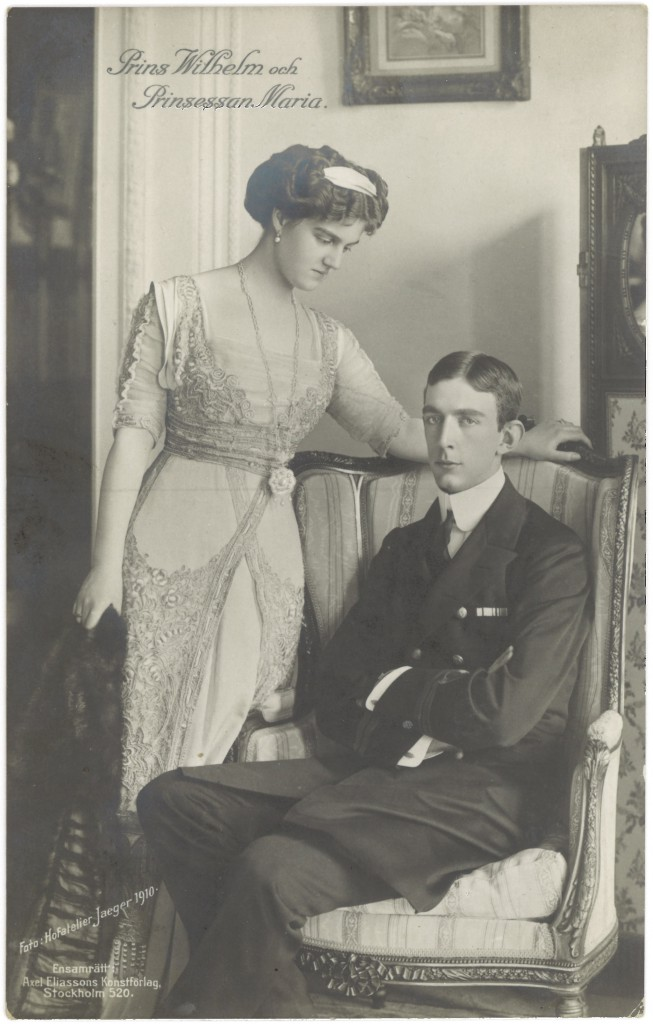 Triss i damer_Prins_Wilhelm_och_Prinsessan_Maria_(1910)
