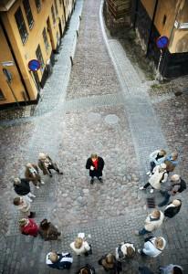 The Millennium tour. Guidad tour i stockholm med Stieg Larssons Millenniumtrilogi som tema.